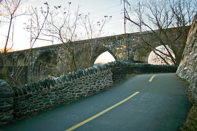 Brige & bike road