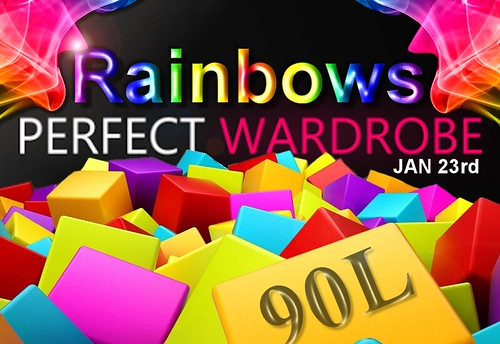 PERFECT WARDROBE _ Rainbows