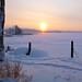 Lake Päijänne at 9:20 am, -30C