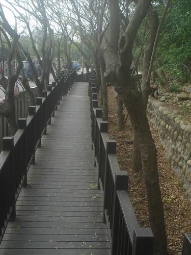 鬼洞入口的坡道