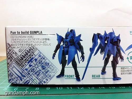HG 144 Gafran OOB Review - Gundam AGE (2)