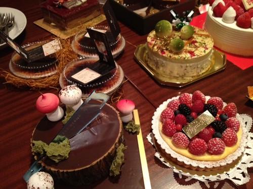 ケーキのアップその1@甘党男子3周年&Xmasスイーツ交流会