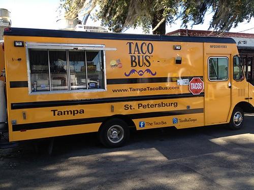Taco Bus Preparation Bus