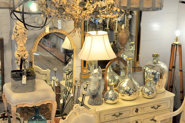 lamp + mirrors