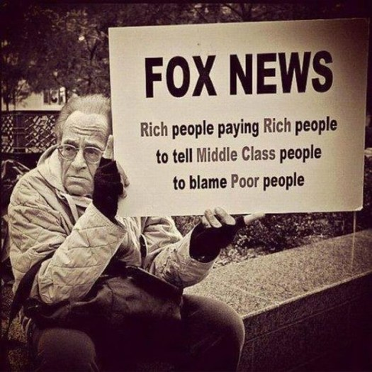 Fox News is…