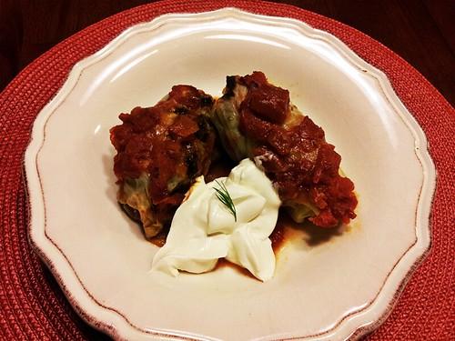 golubtsi1- stuffed cabbage