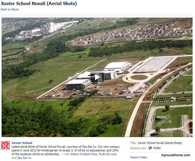 Xavier School Nuvali Aerial Shots