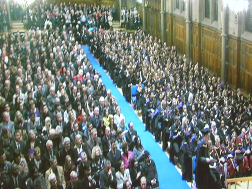 Graduation at Whitworth Hall, Manchester
