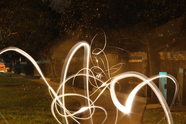light writing