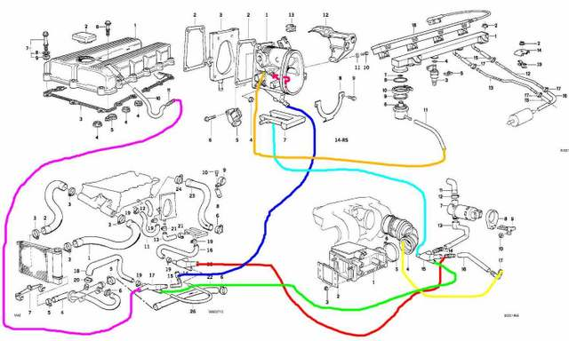 1992 bmw 525i engine diagram control cables wiring diagram