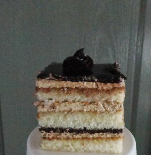 English mocha cake