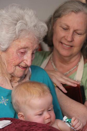 Baby, Grandma & Great Grandma I