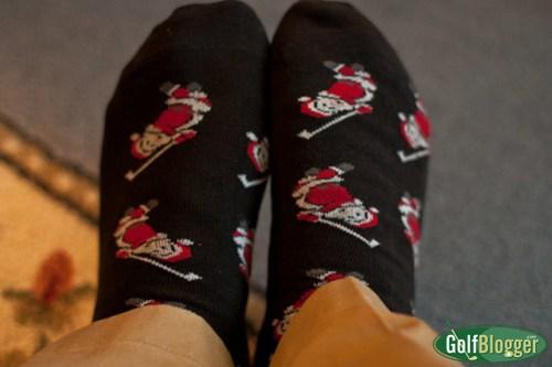 Christmas Golf Socks