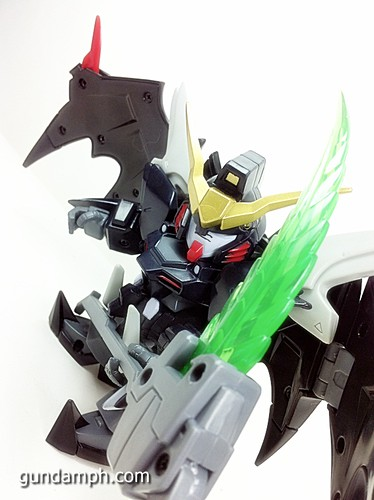 SD Gundam Online Deathscythe Hell Custom Toy Figure Unboxing Review (36)