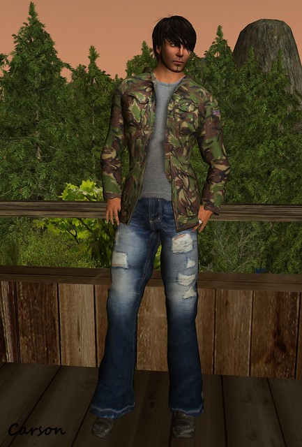 Santos - Field Jacket, Afliction Jeans, Hool Boots
