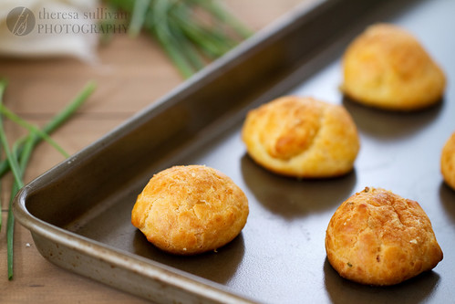 Asiago Cheese Puffs