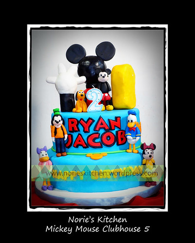 Norie's Kitchen - Mickey Mouse Clubhouse Cake 5 by Norie's Kitchen