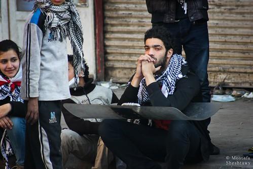 Revolutionary singer Ramy Essam