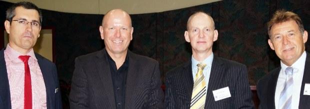 Simon Penrose, Kevin Stock, Simon Blowes from Imprint, William Elliott from MatchWorks