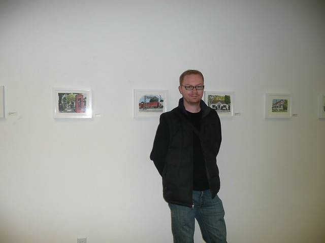 My show at the Pence Gallery