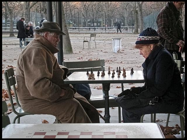 Echecs au Jardin du Luxembourg * Paris