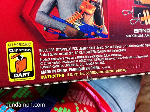 NERF Sale 50% Off Stampede Raider Recon Unboxing Review (46)