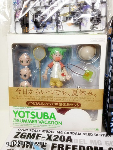 MG SF Wings of light Yotsuba Summer Vacation Black Rock Shooter Nendo (3)