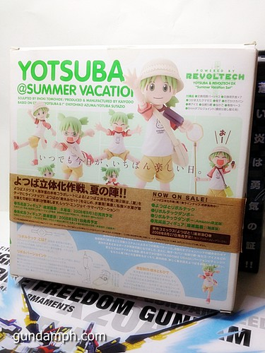 MG SF Wings of light Yotsuba Summer Vacation Black Rock Shooter Nendo (7)