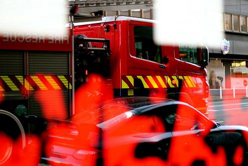 Saturday: Christmas Eve fire alarm