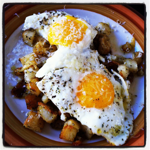 eggsonroastedpotatoes
