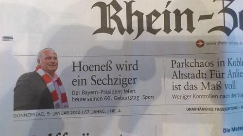 Hoeneß wird ein Sechziger by Maddog.Dentier