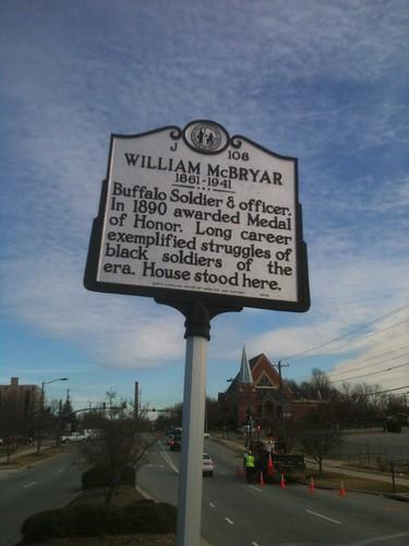 WILLIAM McBRYAR by Greensboro NC