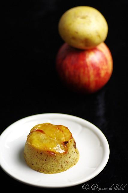 Budino di patate e mele
