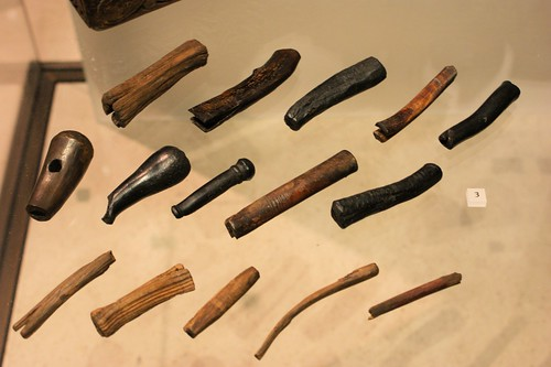 Leatherworker's tool kit, 550-850AD