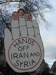Hands off Iran and Syria