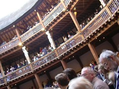 The Globe Theatre, London by kathrynlinge