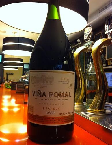 Botella de Viña Pomal Reserva 2006 de 6L by Pazo Doval Marisqueria