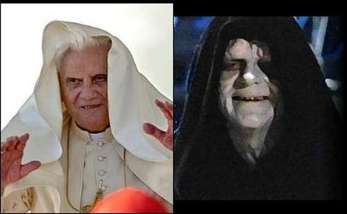Ratzinger y Emperador