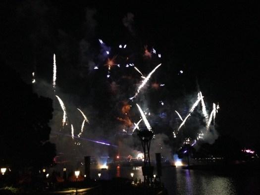 Epcot Fireworks WDW