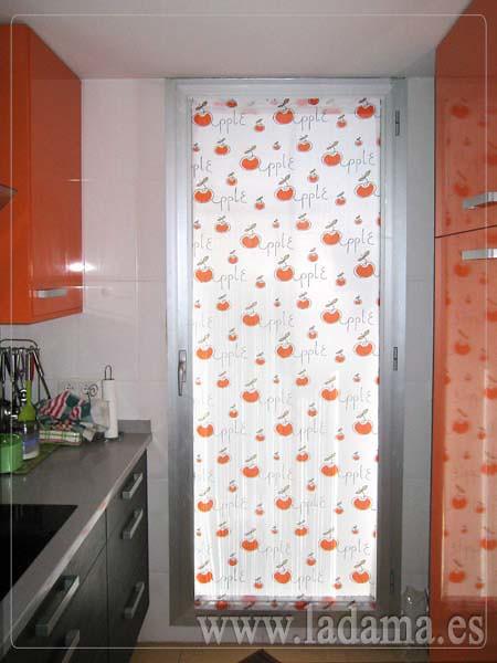 Visillo para puerta de Cocina Naranja  Flickr  Photo