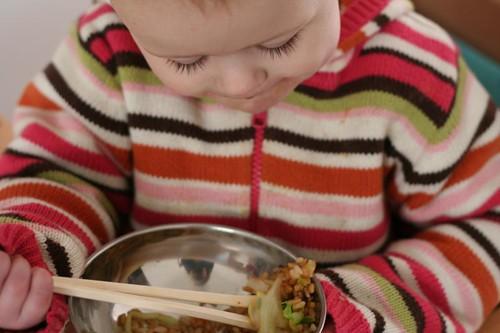 chopstick baby