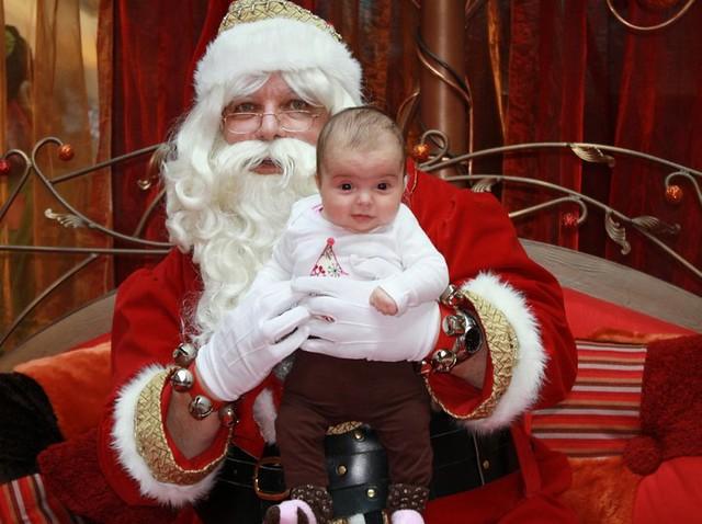 Eva and Santa
