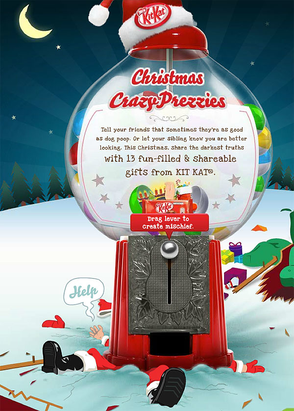Kit Kat Christmas Crazyprezzies!