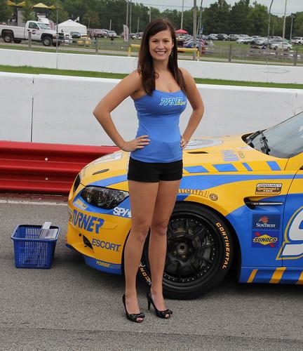 Turner Motorsport Grid Girl