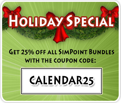 Day 27 of The Sims 3 Holiday Calender = 25% SimPoints Discount