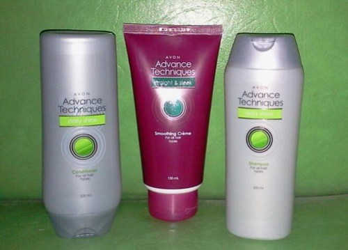 avon advanced technique hair set