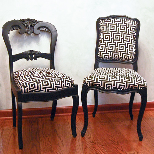 Reupholstering Gallery Craftgawker - Reupholster chairs