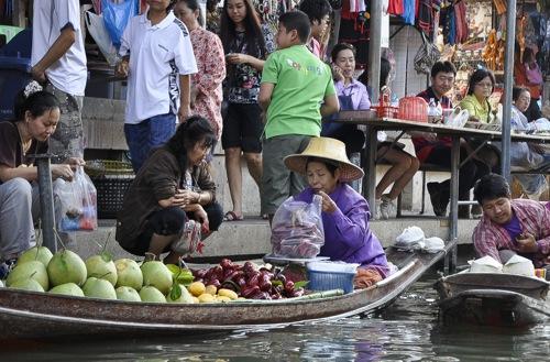 Floating market - Bangkok (55 of 66)