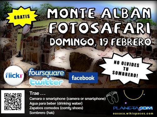Bring your hat! Multilingual Monte Alban Photo Safari in Oaxaca #rtweek2012