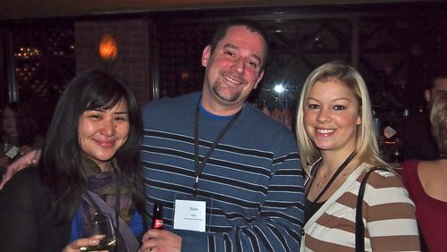 Mingling at Boston Media Makers